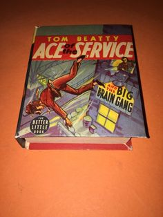 NM SUPERIOR GRADE 1939 TOM BEATTY ACE OF THE SERVICE WHITMAN BIG LITTLE BOOK
