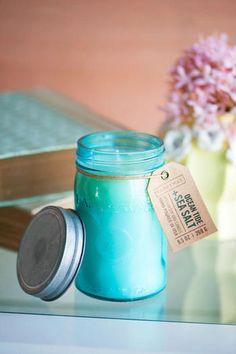 Paddywax Ocean Tide & Sea Salt Mason Jar Candle