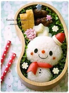 For Christmas! Little Snowman Charaben