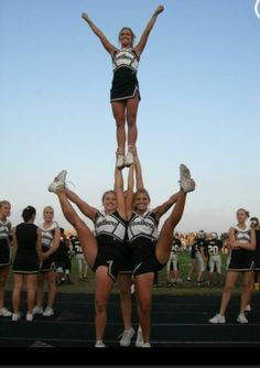 #cheer stunts