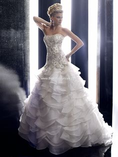 #1: Love love love!! Christina Wu Wedding Dresses - Style 15478 - $1,419.00  - favorite dress. Spring 2012