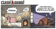 Ep.17 Hog Rider Birthday (Clash A Rama) Coc comic version