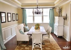 Grande Claire Chandelier by Ballard Designs  I  via Sophia's Decor