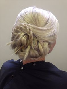 Updo for any occasion.
