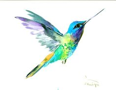 Buy Hummingbird, Watercolours by Suren Nersisyan on Artfinder. Discover thousands of other original paintings, prints, sculptures and photography from independent artists.