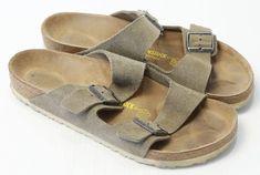 55eda6368abf Men s Birkenstock Sandals Tan Leather Two Buckle Straps Size 11. Favorites ListBirkenstock  Sandals