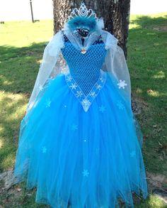 Princess Elsa or Anna of Frozen tutu dress by AngelinaRoseInspired, $45.00
