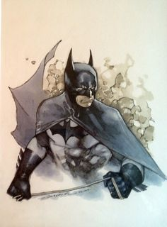 Olivier Coipel ~ Batman Comic Art