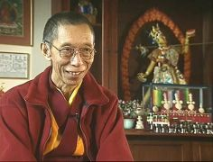 Image extracted from the video: A Biography of Geshe Kelsang Gyatso http://youtu.be/rcs13D7uLHA