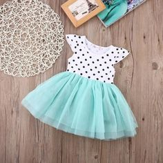 New Girls Dresses Fashion Summer Shell Floral Dot Print Lace crochet Tutu Dress Kids Girl Party Clothes for Children Outfits Teenager Mädchen, Teen Girl Outfits, Baby Outfits, Kids Outfits, Stylish Dresses For Girls, Frocks For Girls, Dresses Kids Girl, Work Dresses, Dresses Dresses
