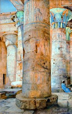Egypt , Old Cairo Paintings: Henry Roderick Newman. (American, 1833-1918)