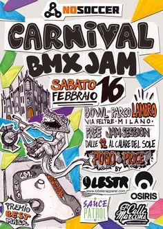 NoSoccer.com   Carnival Bmx Jam 2013