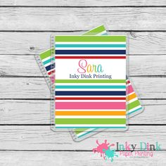 New to InkyDinkPrinting on Etsy: Rainbow Planner Cover Erin Condren Life Planner Happy Planner MAMBI (13.00 USD)