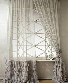 Комплект штор «Викси» серого цвета