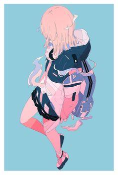Art Anime Fille, Anime Art Girl, Art And Illustration, Fanarts Anime, Anime Characters, Pretty Art, Cute Art, Aesthetic Art, Aesthetic Anime
