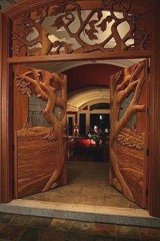 Francois Mongeau, Errington-Vancouver Island -- WOW doors!
