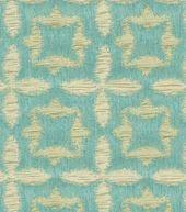 Upholstery Fabric- Waverly Stardust Aquamarine