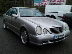2000 Mercedes-Benz AMG 5.4 E55 4dr F.S.H. / SAT/NAV/REAR D.V.D/ Petrol WATFORD - Top Marques