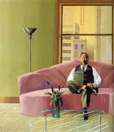 David Hockney. See The Virtual Artist gallery: www.theartistobjective.com/gallery/index.html