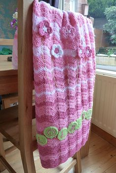 Ravelry: debbieredman's Rose garden blanket