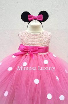 Ratón de Minnie vestido minnie mouse cumpleaños por MimozaLuxury