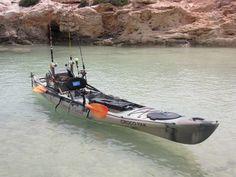 Ocean kayak with fishing.....YES