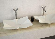 Polygonal sink design