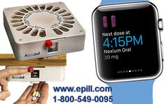 e-pill Medication Reminders Introduces Accutab Personal Pillbox for Apple Watch -- BOSTON, April 22, 2015 /PRNewswire/ --
