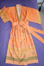 Bassetti Kimono Granfoulard Modell Fong Morgenmantel Orange Baumwollsatin