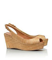96796c979eaea Tory Burch. Neutral SandalsCute SandalsWedge SandalsShoes 2014Dream ShoesSummer  ShoesBag ...