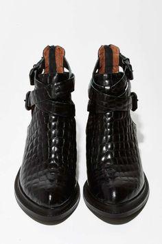 quality design c5a10 b7870 Jeffrey Campbell Sylvestr Leather Bootie Festival Boots, Festival Shop,  Zara Boots, Bootie Boots
