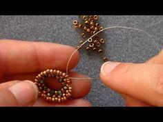 """Tutorial orecchini """"Maria del Mar"""" - YouTube"""