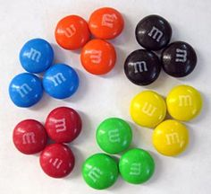 """What are the chances you will pull out a red M & M when you reach into a bag? The """"M & M Math"""" #science project, introduces students to statistics as they gather their data and create different graphs to explore frequency. [Source: Science Buddies, http://www.sciencebuddies.org"""