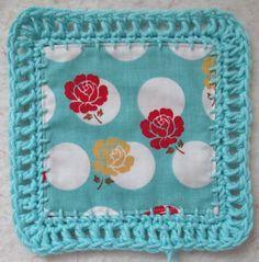 Bee In My Bonnet: Fusion Blanket Crochet Along... ༺✿Teresa Restegui http://www.pinterest.com/teretegui/✿༻