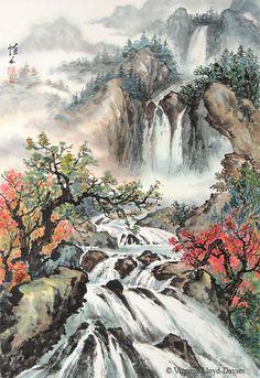 Landscapes - Virginia Lloyd-Davies - Joyful Brush®