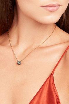 Pomellato - Nudo 18-karat Rose Gold Diamond Necklace - one size