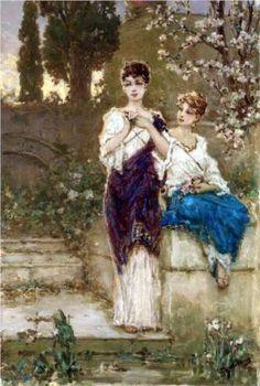 Two Beauties - Wilhelm Kotarbinski