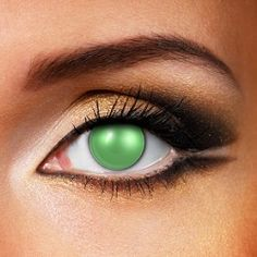 Eyefusion 1 Day Blind Coloured Contact Lenses (Green)