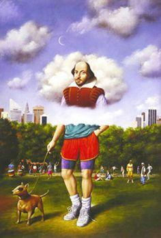 * Rafal Olbinski - - - Shakespeare In The Park