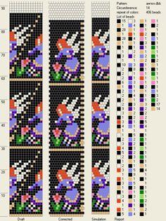 Узоры для вязаных жгутиков-шнуриков 15   biser.info - всё о бисере и бисерном творчестве