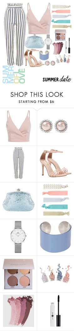 """""""Untitled #6"""" by meital2517 ❤ liked on Polyvore featuring Miu Miu, Topshop, Judith Leiber, Accessorize, Daniel Wellington, Maison Margiela and Gucci"""