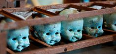 Molds for doll heads