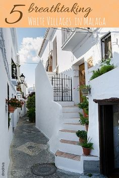 There are so many beautiful white villages in Malaga! Here are our top five to visit!