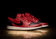 Air Jordan 1 Low OG Bred Color: Gym Red/Black-Sail Style Code: 705329-601 Price: $130