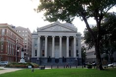 Gallier Hall, New Orleans' second City Hall, 545 St. Charles Ave., New Orleans, LA