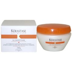 Nutritive Nutridefense Masque by Kerastase for Unisex Hair Mask, 6.8 Ounce ** Continue to the product at the image link.