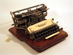 Hammond No. 12 (1905)   While the first typewriter created uniformed and efficient writing, eventually people wanted variations in text that could reflect individual style. The Hammond No. 12 typewriter allowed for this with an interchangeable type shuttle. This feature works using a C-shaped piece of hard rubber held in a central anvil that is easy to change. Different type shuttles can use conventional type, cursive type, non-Roman alphabets ...