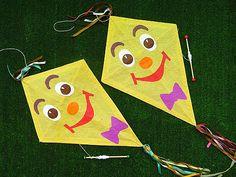 Játék, tanulás, játékos tanulás nyáron (is) 28. - Papírsárkány készítés - Napról napra óvoda
