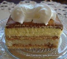 Ez a hamis krémtúrós recept eddig senkinek nem okozott csalódást Cheesecakes, My Recipes, Sweet Recipes, Ital Food, Hungarian Recipes, Sweet And Salty, No Bake Desserts, Cake Cookies, Vanilla Cake