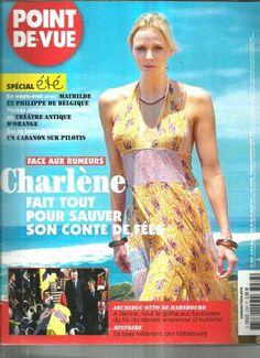 Point de Vue N°3287 Charlene Wittstock 2011